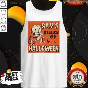 Love Sam's Rules Of Halloween Tank Top