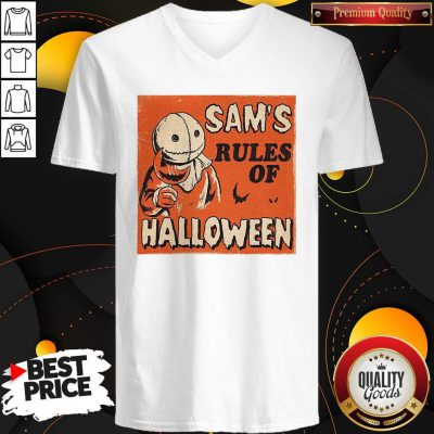 Love Sam's Rules Of Halloween V-neck