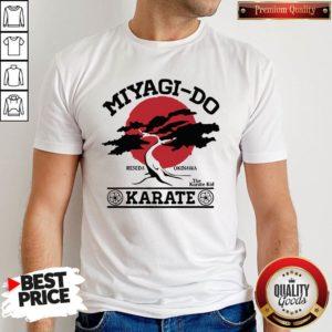 Miyagi Do Reseda Okinawa The Karate Kid Karate Shirt