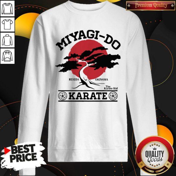 Miyagi Do Reseda Okinawa The Karate Kid Karate Sweatshirt