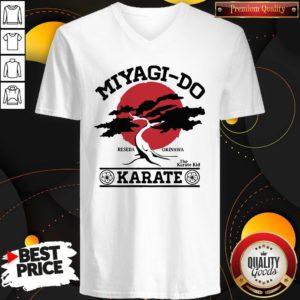 Miyagi Do Reseda Okinawa The Karate Kid Karate V-neck