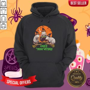 Nice Coven Of Trash Witches Halloween Hoodie