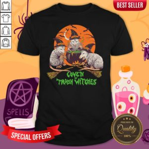 Nice Coven Of Trash Witches Halloween Shirt
