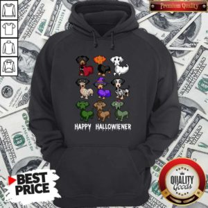 Nice Dachshund Happy Halloween Hoodie