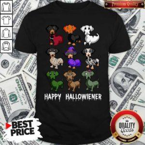 Nice Dachshund Happy Halloween Shirt