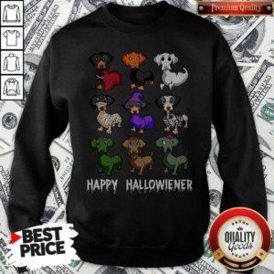 Nice Dachshund Happy Halloween Sweatshirt