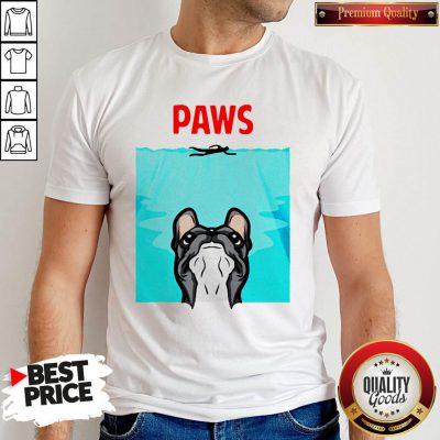 Nice Pitbull Paws Water Pool Shirt
