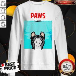 Nice Pitbull Paws Water Pool Sweatshirt