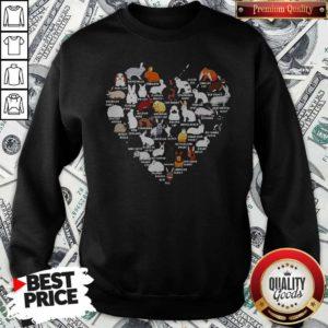 Nice Rabbits Love Aholic Sweatshirt