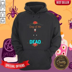 Official Day Of The Dead Skeleton HoodieOfficial Day Of The Dead Skeleton Hoodie