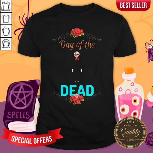 Official Day Of The Dead Skeleton Shirt