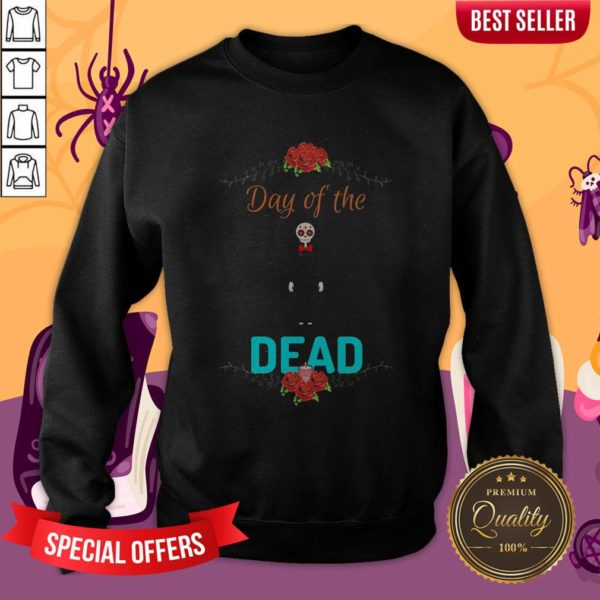 Official Day Of The Dead Skeleton Sweatshirt