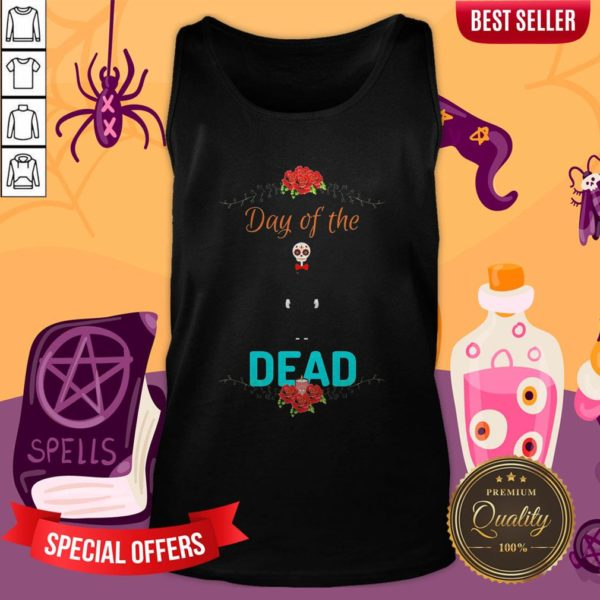 Official Day Of The Dead Skeleton Tank Top