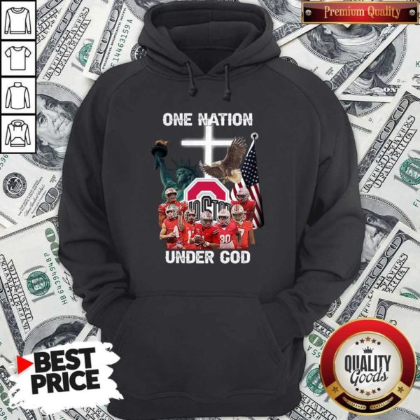 Ohio State Buckeyes One Nation Under God Hoodie