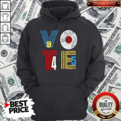 Retro Anti Trump Vote 8645 Democrat Voter Hoodie