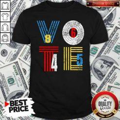 Retro Anti Trump Vote 8645 Democrat Voter Shirt
