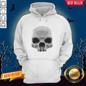 Skull Simple Day Of The Dead Hoodie
