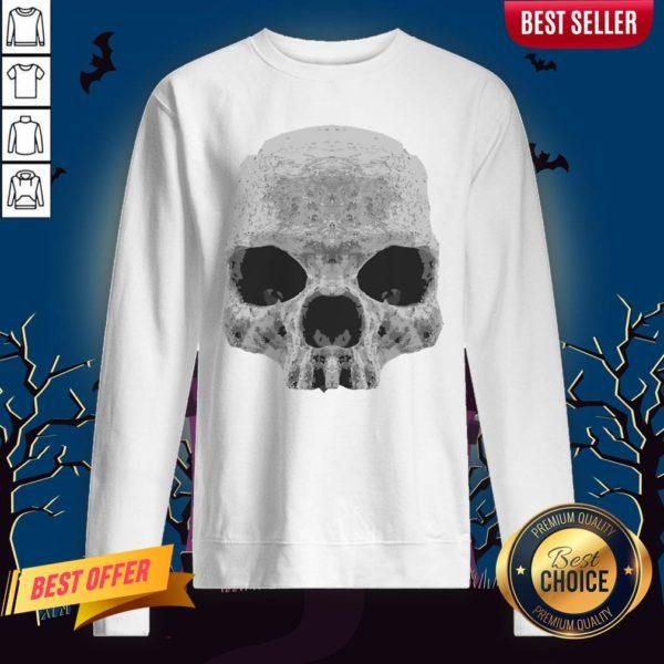Skull Simple Day Of The Dead Sweatshirt