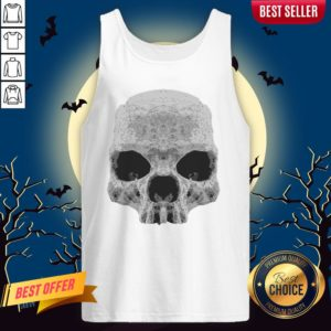 Skull Simple Day Of The Dead Tank Top