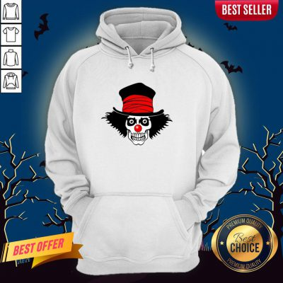 Skull With Top Hat Halloween And Day Of The Dead Hoodie