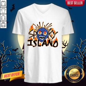 Spooky Island Halloween Day 2020 V-neck