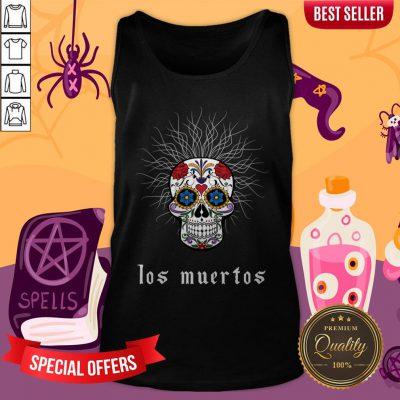 Sugar Skull Dia De Los Muertos Day Dead Tank Top