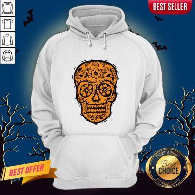 Sugar Skull Halloween Day Of The Dead Hoodie