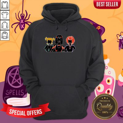 The Hex Girls Scooby-doo And TThe Hex Girls Scooby-doo And The Witches Ghost Halloween Hoodiehe Witches Ghost Halloween Hoodie