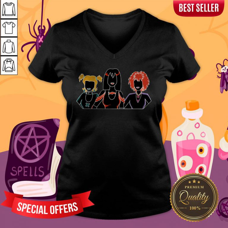 The Hex Girls Scooby-doo And The Witches Ghost Halloween V-neck