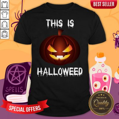This Is Halloweed Retro Pumpkins Day Dead Shirt