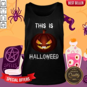 This Is Halloweed Retro Pumpkins Day Dead Tank Top