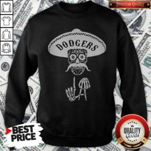 Top Skull Los Angeles Dodgers Sweatshirt