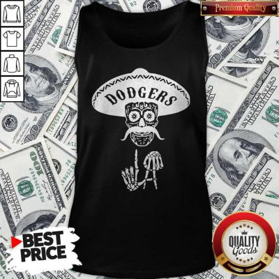 Top Skull Los Angeles Dodgers Tank Top