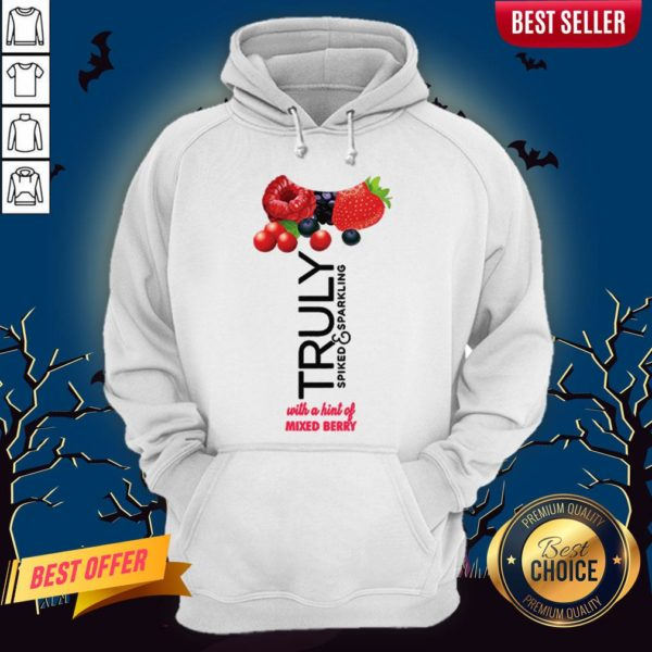 Truly Halloween Costume With A Hint Of Mixed Berry Hoodie