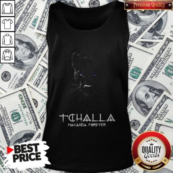 Wakanda Forever Thank You For The Memories Signature Tank Top