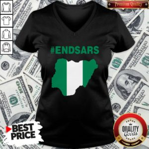 Beautiful Endsars V-neck - Design By Waretees.com