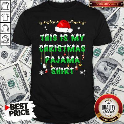 Beautiful This Is My Christmas Pajama Shirt - Design By Waretees.com