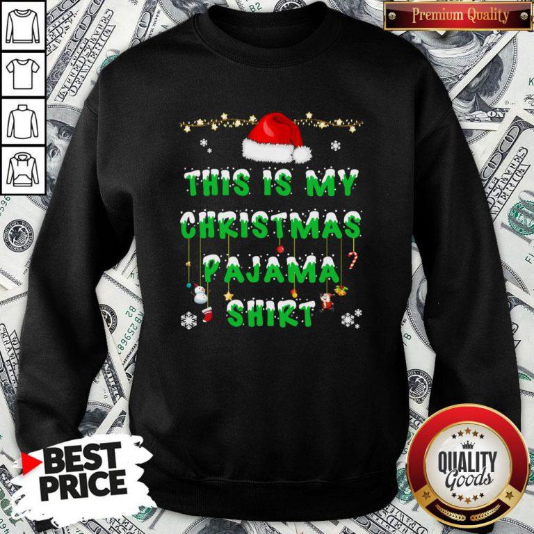 Beautiful This Is My Christmas Pajama Sweatshirt - Design By Waretees.com