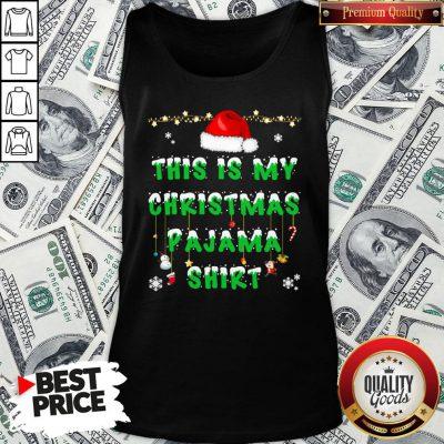 Beautiful This Is My Christmas Pajama Tank Top - Design By Waretees.com