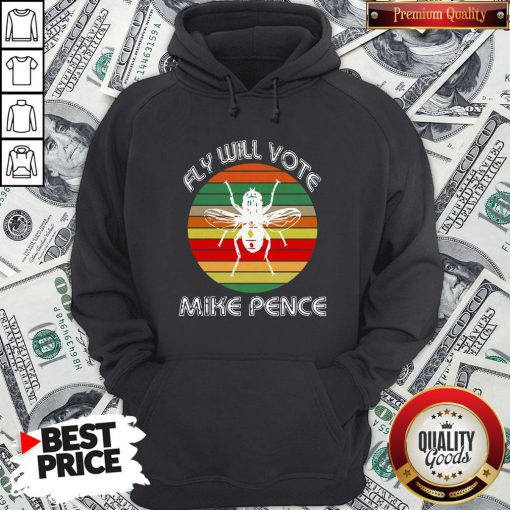 Fly On Mike Pence's Head For Biden Harris 2020 Hoodie - Design By Waretees.com