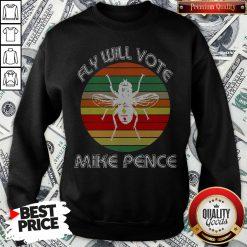 Fly On Mike Pence's Head For Biden Harris 2020 Sweatshirt - Design By Waretees.com