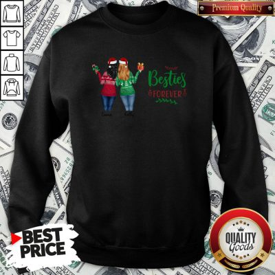 Funny Emma And Kathy Besties Forever Christmas Sweatshirt - Design By Waretees.com