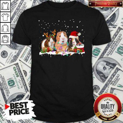 Funny Santa Hamster Reindeer Christmas Shirt - Design By Waretees.com