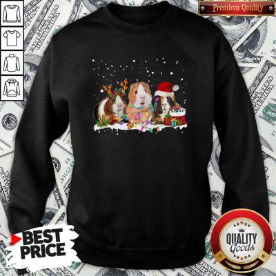 Funny Santa Hamster Reindeer Christmas Sweatshirt - Design By Waretees.com
