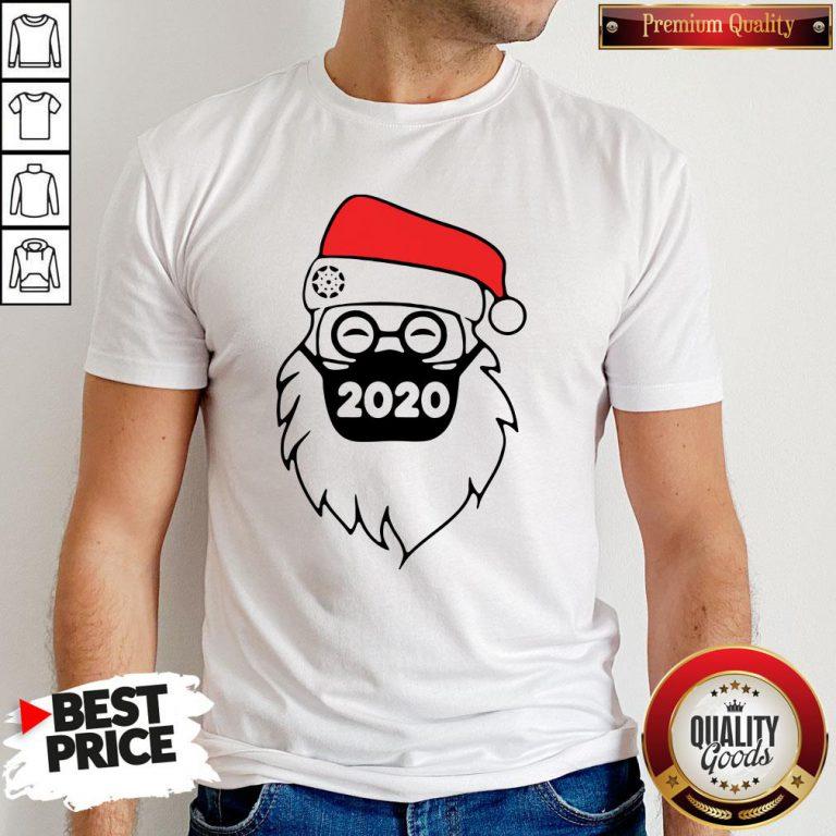 Good Santa Wearing Mask 2020 Christmas Shirt - Design By Waretees.com