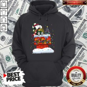 Good Snoopy And Woodstock Merry Christmas Hoodie - Design By Waretees.com