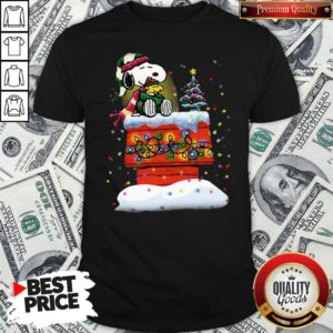 Good Snoopy And Woodstock Merry Christmas Shirt - Design By Waretees.com