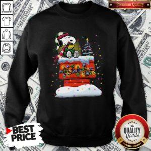 Good Snoopy And Woodstock Merry Christmas Sweatshirt - Design By Waretees.com