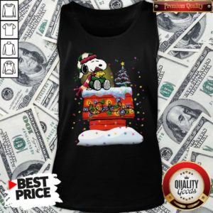 Good Snoopy And Woodstock Merry Christmas Tank Top - Design By Waretees.com