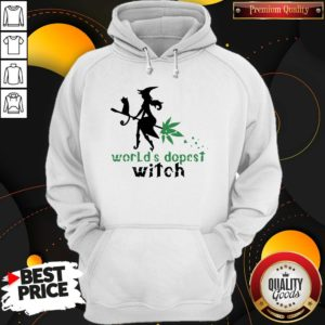 Good Weed Worlds Dopest Witch Hoodie - Design By Waretees.com
